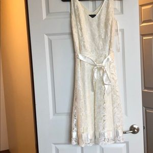 White lace wedding/cocktail dress